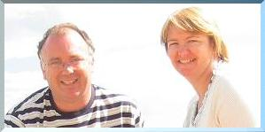 Website design specialists Peter and Catherine Gill.